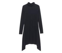 Asymmetrisches Jersey-Kleid  // Loni Black