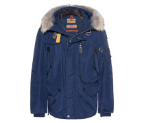 Daunen-Parka mit Fell-Besatz  // Right Hand Blue