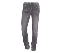 Washed-Out Slim Fit Jeans