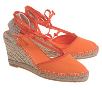 Wedge-Espadrilles  // Pyrenées Orange