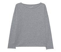 Fleece Sweater Oversized Graphit