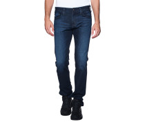 Schmale Jeans im Washed-Out-Look  // The Matchbox Slim Straight Vibe