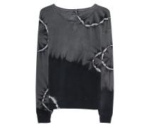 Sweatshirt im Batik-Design  // Batik Crew Sweat Black