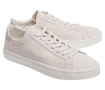 Flache Veloursleder-Sneakers  // Court Vantage Clay Brown