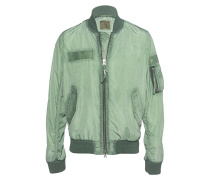 Bomberjacke im Oilwash-Finish  // Windbreak Bomber Hedge Green