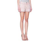 Jeans-Shorts mit fransigem Saum  // The Boyfriend Short Rose Dust