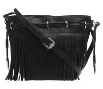 Allegra Mini Drawstring Turtle Black