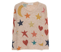 Feinstrick-Pullover aus Alpaka-Woll-Mix  // Stars Dream Big