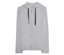 Lässiger Zipper-Hoodie  // Zip Classic Light Grey
