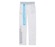 Sweatpants mit Print  // Capsule Tablets Long Light Grey