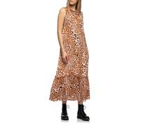 Leo-Kleid mit Rüschen