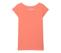 Burn-Out-T-Shirt  // Clean Burn Orange