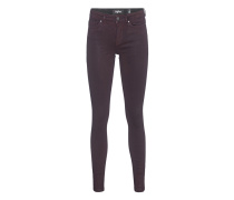 Beschichtete Skinny-Jeans  // Ania Coated Red