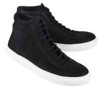 Mittelhohe Leder-Sneakers  // Jorge Mat Black