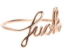14 Karat Roségold-Ring  // F*ck Rose Gold