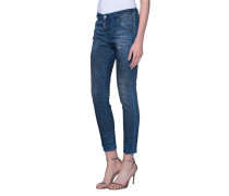 Skinny-Destroyed-Jeans  // Cool Girl Dirt Wash