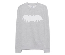 Sweater mit Print  // Batman Grey Heather