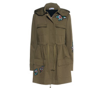Baumwoll-Jacke mit Patches  // Blouson Army Khaki