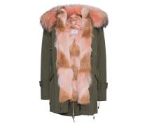 Parka mit Fellbesatz  // New Gala Fox Khaki