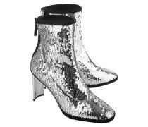 Stiefelette mit Pailetten  // Ruggente Sequin Silver