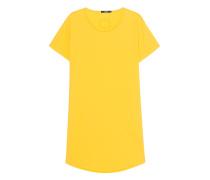Längeres Baumwoll T-Shirt  // Miro Yellow