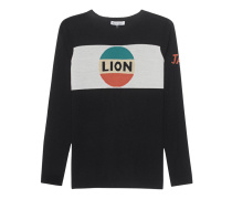 Lion Stripe Jumper Black
