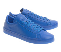 Flache Sneakers  // Court Vantage Adicolor Blue