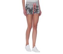 Gemusterte Sweat-Shorts  // Shorts Print Palms Anthra