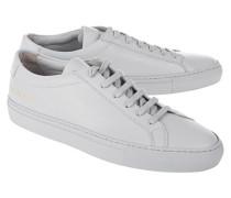 Flache Ledersneaker  // Achilles Low Grey