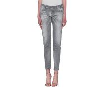 Destroyed Skinny Jeans  // Jennifer Jean