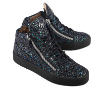 Glitzer-Sneakers  // My London Blytter Multysky Black