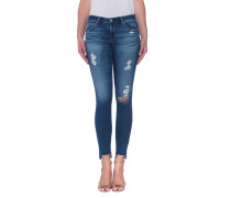Destroyed Skinny-Jeans  // The Legging Ankle 14 Years Radiant Blue