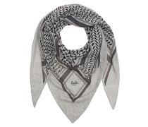 Dreieckiger Kaschmir-Schal  // Triangle Trinity Clasic Grey