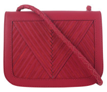 Kalbsleder Crossbody-Bag  // Coachella V Red