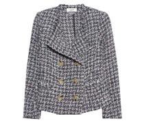 Woll-Mix Tweed-Jacke