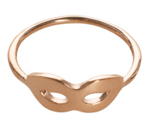 14 Karat Goldring  // Mask Gold