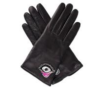 Handschuhe aus Lammnappa  // Eye And Heart Black