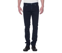Cleane Slim-Fit Jeans  // Ronnie Luxe Performance Huntley Rinse Blue