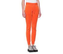 Samt-Sweatpants  // Velvet Orange