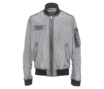 Bomberjacke im Oilwash-Finish  // Windbreaker Bomber Black