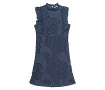 Ärmelloses Jeanskleid aus Lochspitze  // Sly Blue Chambre