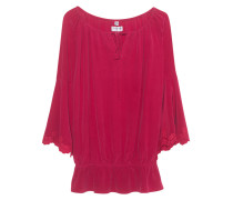 Seiden-Bluse  // Trumpet Blouse Racing Red