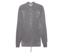 Zipper I Grey Resin Dyed