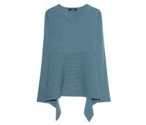 Feinstrick-Kaschmir-Pullover  // Stripe Knit Green Jade