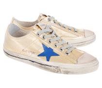 Metallische Canvas Sneakers  // V-Star Gold Canvas