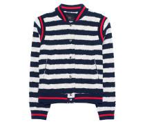 Gestreifte Bomber-Jacke  // Cotton Stripes Multicolor