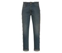 Boyfriend Jeans mit Nieten