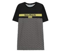 Bedrucktes Oversize T-Shirt mit Label-Wording