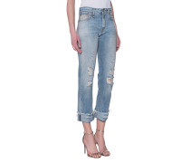 Straight Leg Jeans im Vintage-Look