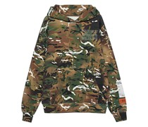 Oversize Camouflage Hoodie